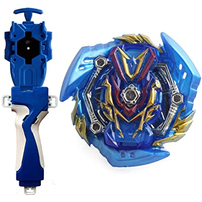 Battling Toys Burst Booster Slash Valkyrie.Bl.Pw B-134 Starter with Battling String Launcher Burst Bey Launcher LR (Left & Right Turning)+String Launcher Grip