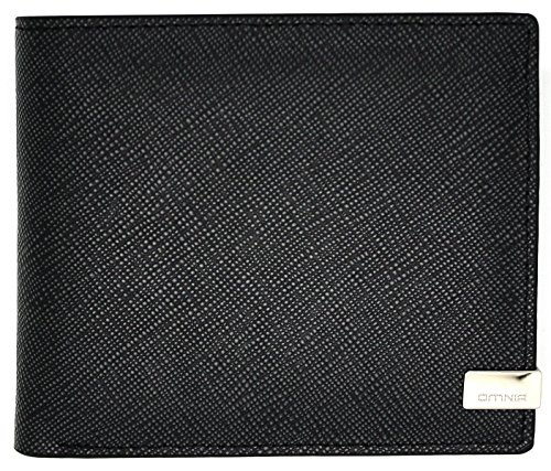 Price comparison product image Wallets for Men Bifold Genuine Leather Flipout ID Money Clip 16 Pockets Nice (Black)