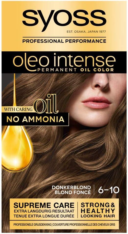 Syoss Color Oleo Intense 6-10 - Tinte para el pelo, color ...