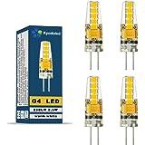 G4 Ampoule LED 2.5W, 250LM, Blanc Chaud, AC/DC 12V LED Spot Lampe,330° Angle de Faisceau, Non-Dimmable Kyodoled, Pack de 4 Unités