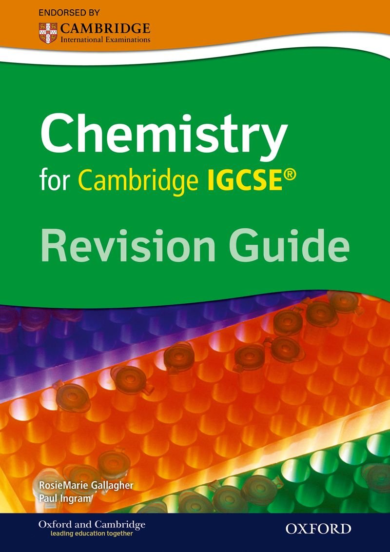 Cambridge Chemistry IGCSERG Revision Guide pdf