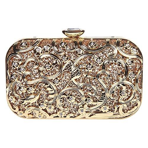 Fawziya Bird Purses And Handbags For Women Bags Online Shopping Fashion-Gold