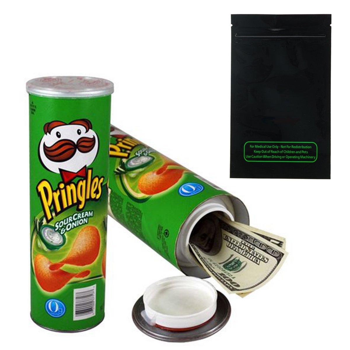 Pringles Stash Can Diversion Safe (Large, Sour Cream & Onion)