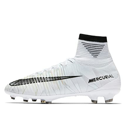 Nike Junior Mercurial Superfly V CR7 DF FG Football Boots 922586 Soccer Cleats (UK 3.5