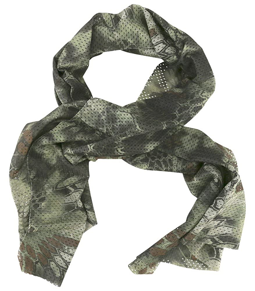 Army Combat Military Army Raptor Jungle Tactical Mesh Large Neck Scarf  Sniper Veill Scrim Net