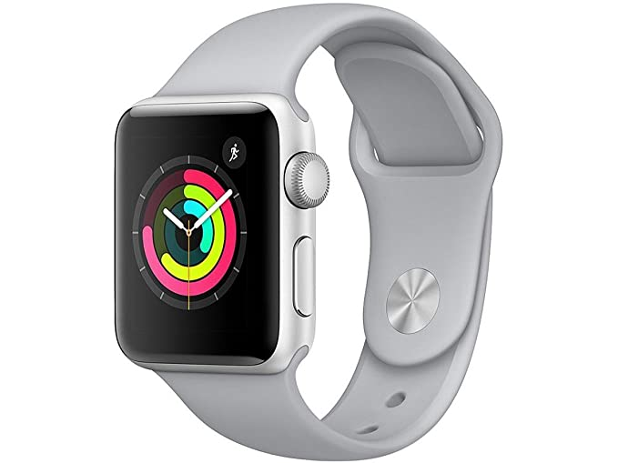 competitive price 4f733 5a063 Apple Watch Series 3 - GPS - Space Gray Aluminum Case with Gray ...