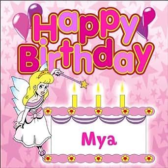 Amazon Com Happy Birthday Mya The Birthday Bunch Mp3