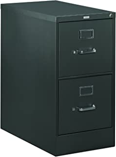 """product image for HON 320 Series Vertical File with 2 Drawers and Letter Width, 15"""", Black"""