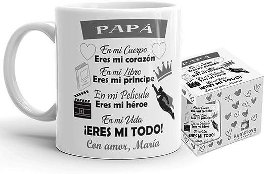 Regalo Original Padre Taza Personalizada Eres El Mejor Papa Del Mundo Día Del Padre Cumpleaños