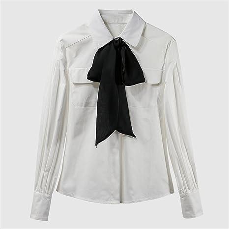 Hembra Inferior Bolsillo Sunbow Corbata Camisa Camiseta Blanca de ...