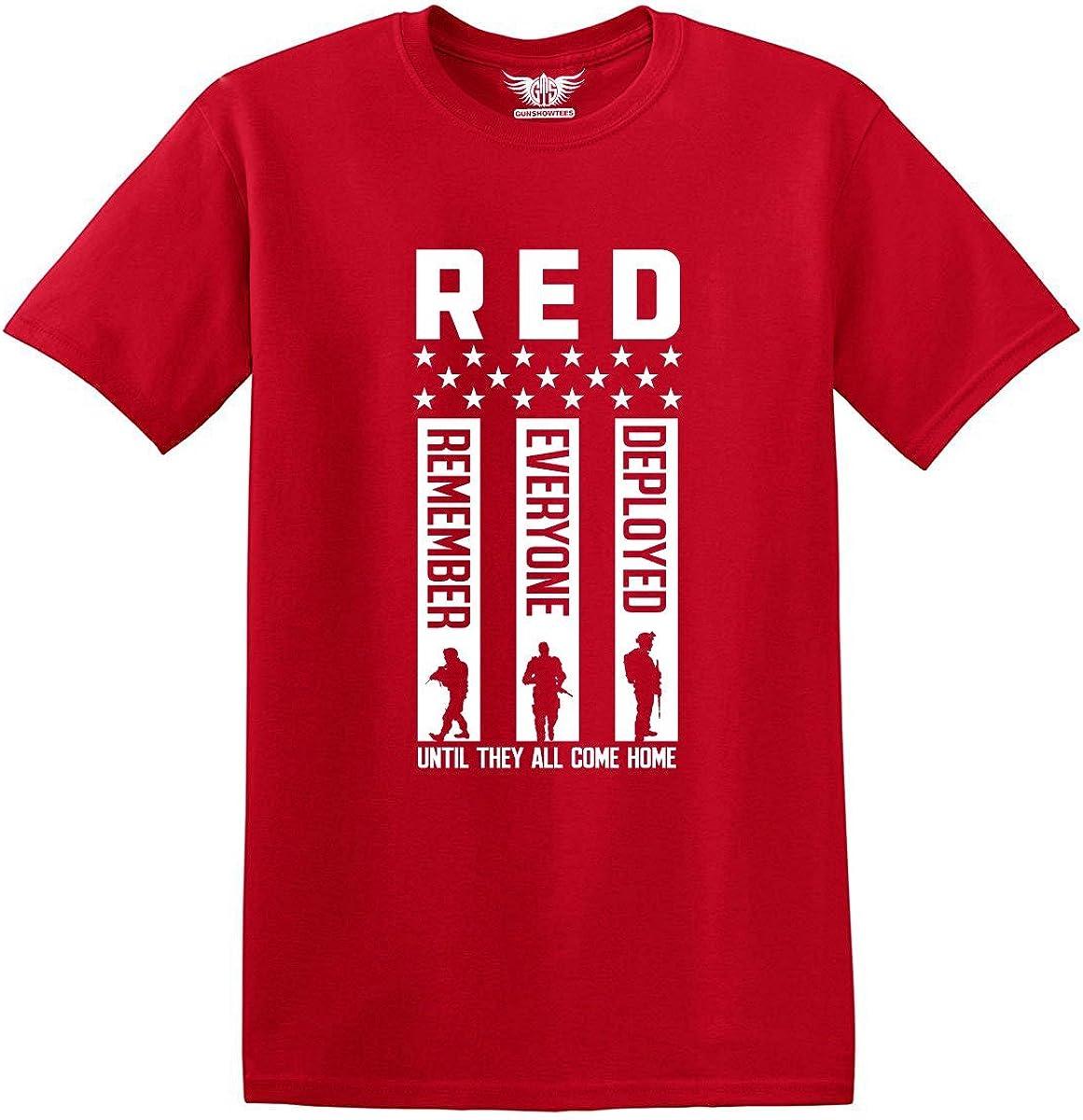 RED Friday Remember Everyone Deployed Shirt