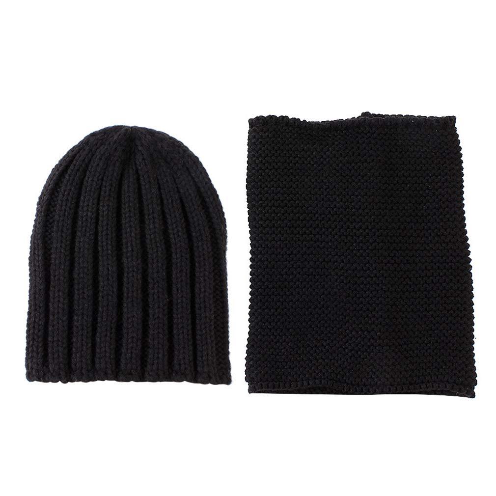 Ever Fairy Juego de 2 Sombreros de Punto para ni/ños Bonitos y Suaves para oto/ño e Invierno c/álidos