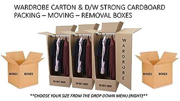 10x Cajas de almacenamiento y transporte de cartón–