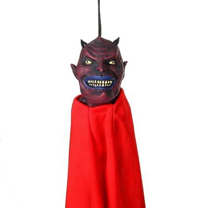 Amazon Com Halloween Hanging Demon Reaper Animated