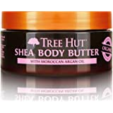 Tree Hut 24 Hour Intense Hydrating Shea Body Butter Moroccan Rose, 7oz, Hydrating Moisturizer with Natural Shea Butter for No