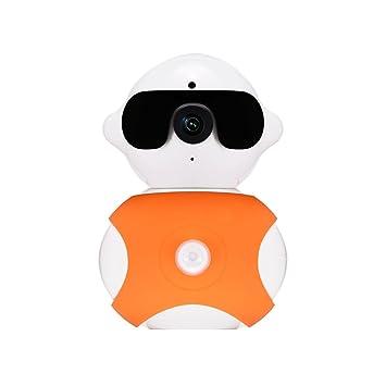 gudoqi® Cámara, monitor bebé cámara WiFi 1280 x 960P HD 360 grados giratorio seguridad
