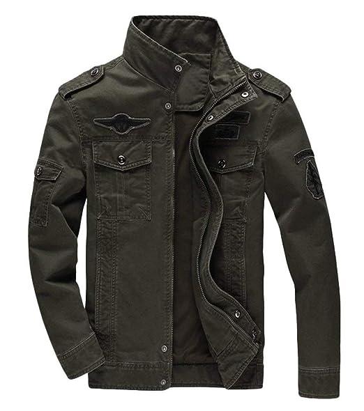 abito uomo giacca milirare