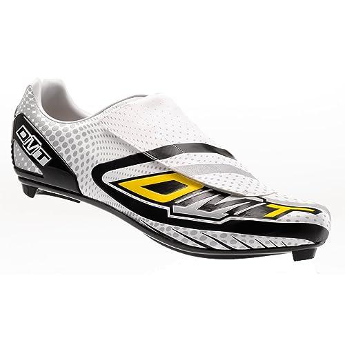 Diamant Dmt - Zapatillas pista, talla 45.5, color blanco / plata: Amazon.es: Zapatos y complementos