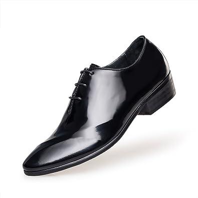 [ZRO] 「ゼロ ビジネスシューズカ 紳士靴 メンズ ロングノーズ 本皮 天然の