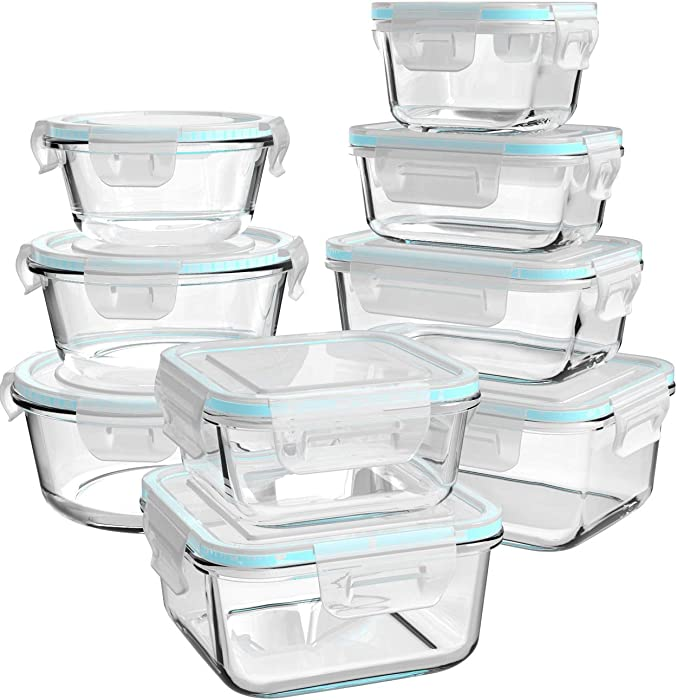 The Best Glass Containers For Food Storage Small With Lids