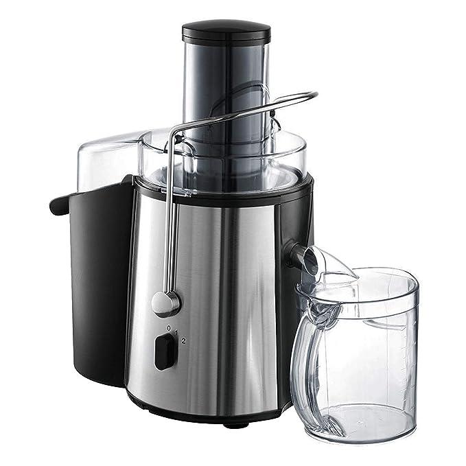 Todeco - Exprimidor Potente, Extractor de Jugo - Potencia máxima: 850 W - Capacidad de la jarra: 1 L - Plateado: Amazon.es: Hogar
