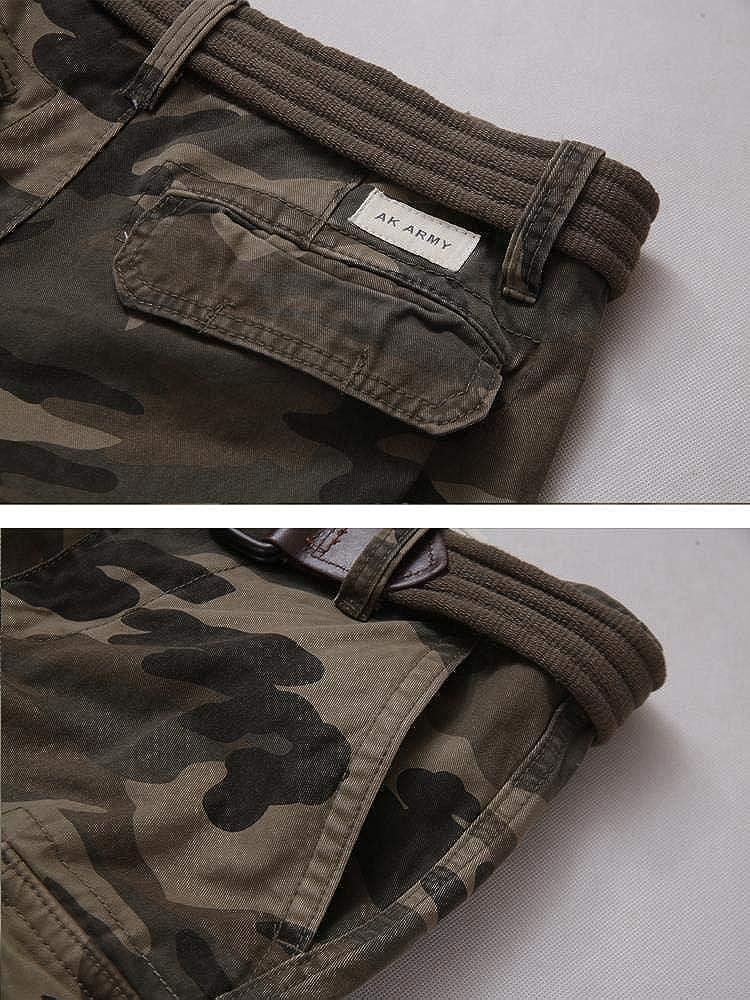 Pantalones cortos para hombre de sarga de algod/ón MUST WAY