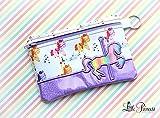 Cosmetic Bag, Makeup Bag, Carousel Bag, Horse Bag, Toiletry Bag