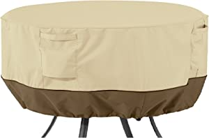 Classic Accessories Veranda Round Patio Table Cover, Large