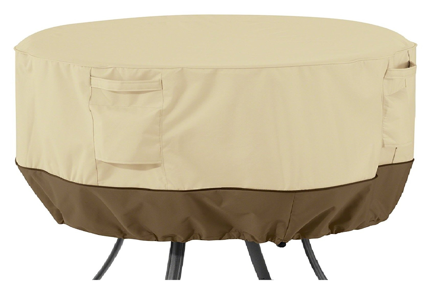 Classic Accessories Veranda Round Patio Table Cover, Large by Classic Accessories