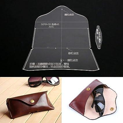 PANINA Funda de piel para gafas de sol, diseño de gafas de ...