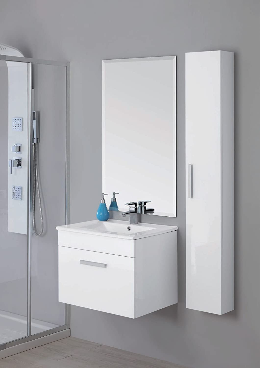 Best mobile bagno 60 cm images for Mobile bagno colonna