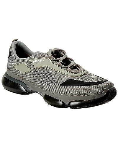 hot-vente plus récent sur les images de pieds de grande vente Prada Basket Homme Grigio: Amazon.fr: Chaussures et Sacs