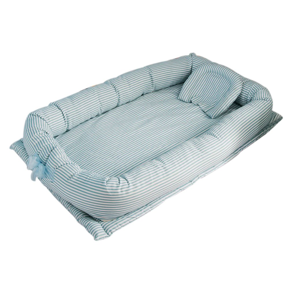 CC Shop Newborn Portable Foldable Crib Multifunctional Nursery Bed Baby Nest for Travel (Zoo)