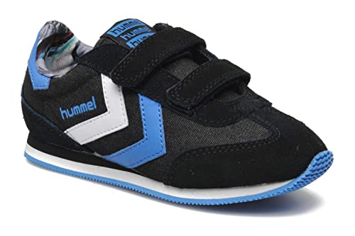 e15bfcf8fbb Hummel Boys STADION JR Velcro Trainers: Amazon.co.uk: Shoes & Bags