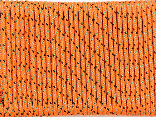 SGT KNOTS Spectra Core / Polyester Cover Low Stretch Hi Visibility Accessory Cord / Tent Guy Line 1.5mm, 2.2mm, or 2.8mm