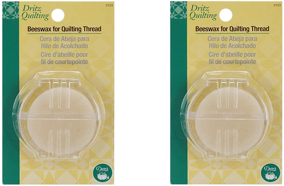 Dritz Beeswax with Holder 2 Pack