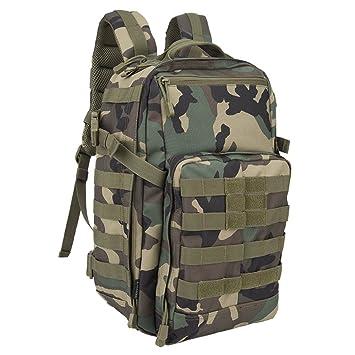 Oleader Mochila táctica militar de 30 l, para actividades al aire libre, senderismo camping, senderismo, caza: Amazon.es: Deportes y aire libre