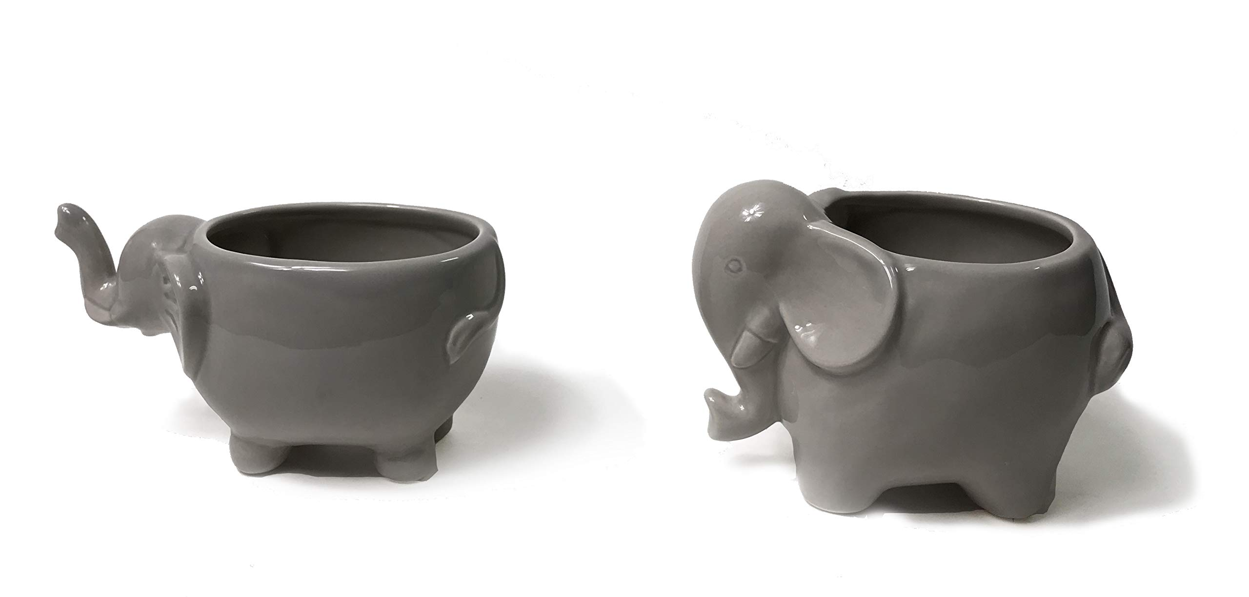 Trusted Buddy Lovely Elephant Succulent Planter Pots