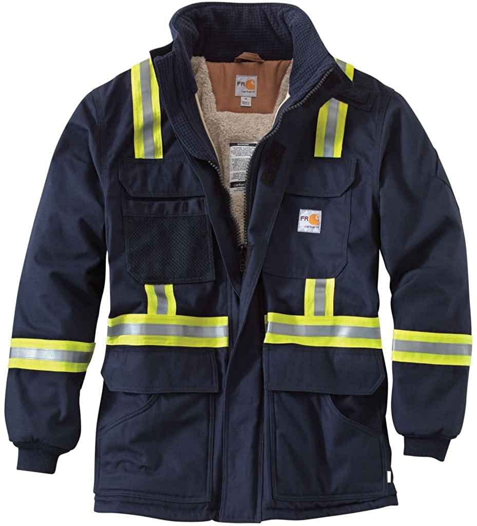 Sherpa Li Carhartt Mens 100784 Flame-Resistant Extremes Arctic Coat