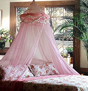 Princess Absolute Ruffle Princess Pink Canopy By Sid & Amazon.com: Dream Canopy for Girls Princess Bedroom Fits Twin or ...