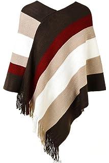 3252825687 Women Elegant Vintage 1940's Hooded Autumn Winter Hollow Out Tassel ...