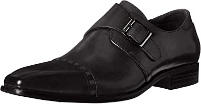Cap Toe Monk Strap Slip-On Loafer Stacy Adams Mens Kimball