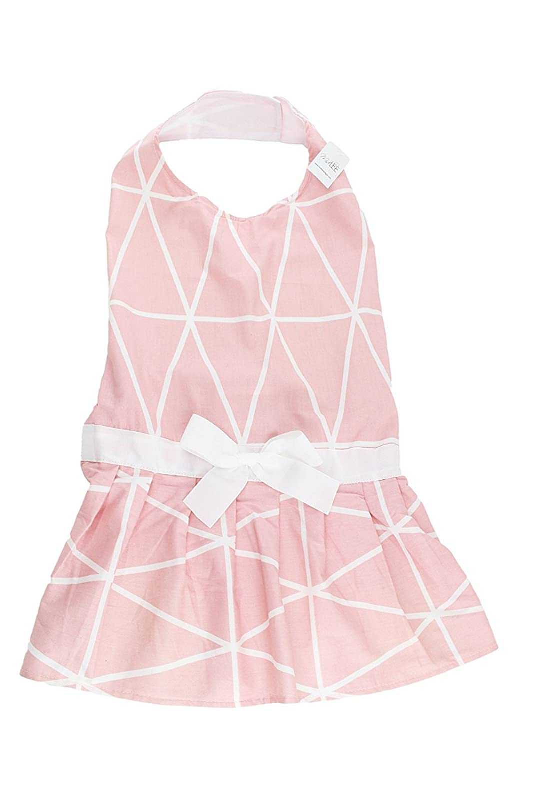 Midlee Pink Geometric Big Dog Dress by (X-Large) XXL - 2