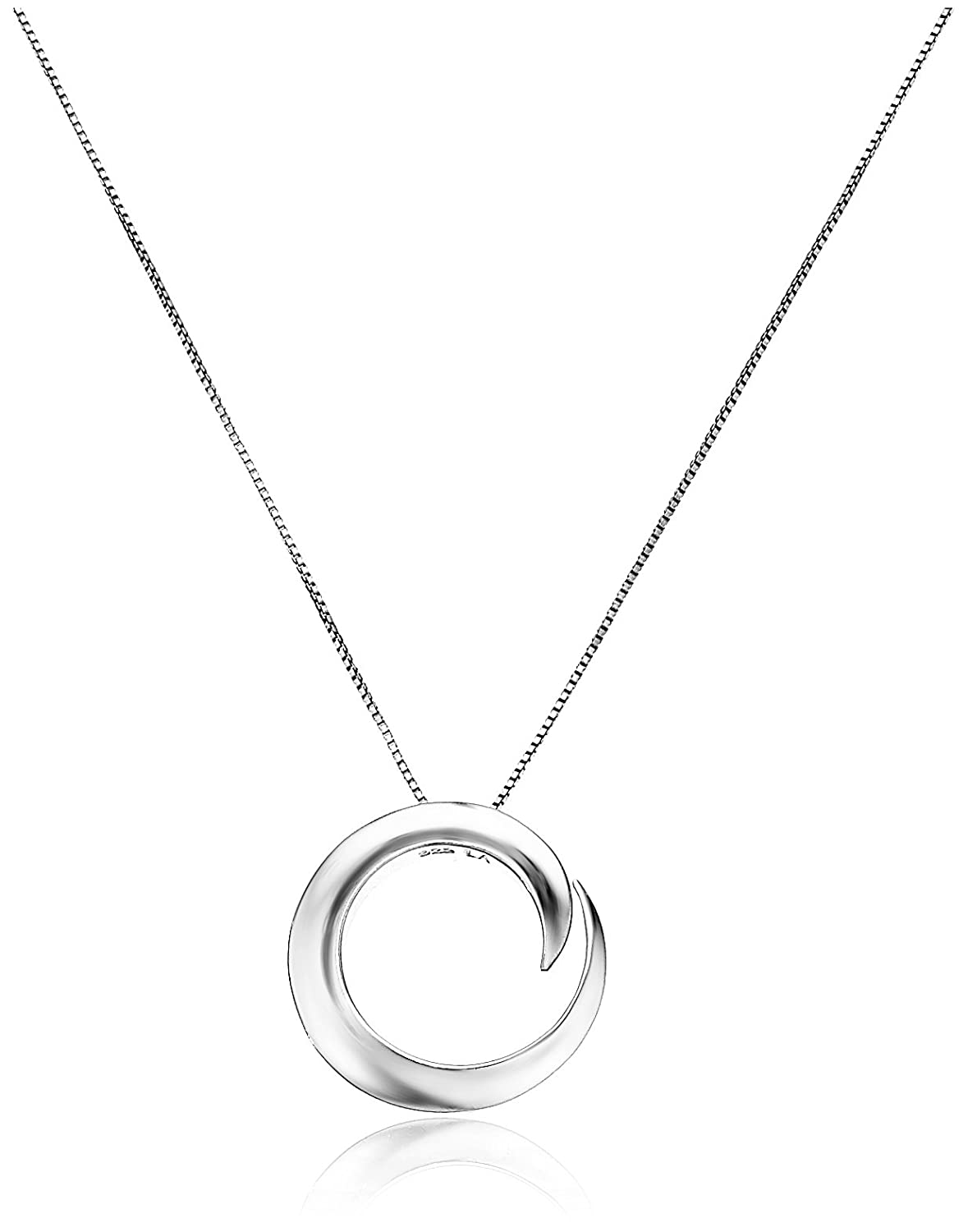 Amazon sterling silver a journey is best measured by friends amazon sterling silver a journey is best measured by friends not miles circle pendant necklace 18 friendship necklace jewelry aloadofball Images
