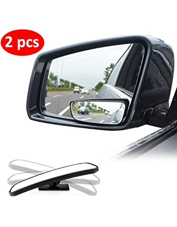 Blind Spot Mirror Square LIBERRWAY Wide Angle Mirror Adjustable Convex Rear  View Mirror 360°Rotate 48ec96139e6a