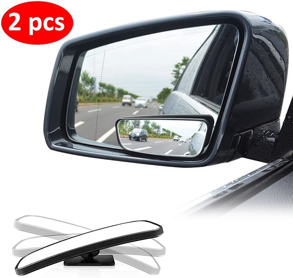 Amazon.com: Blind Spot Mirror for Cars LIBERRWAY Car Side Mirror Blind Spot  Auto Blind Spot Mirrors Wide Angle Mirror Convex Rear View Mirror Stick on  Design Adjustable: Automotive
