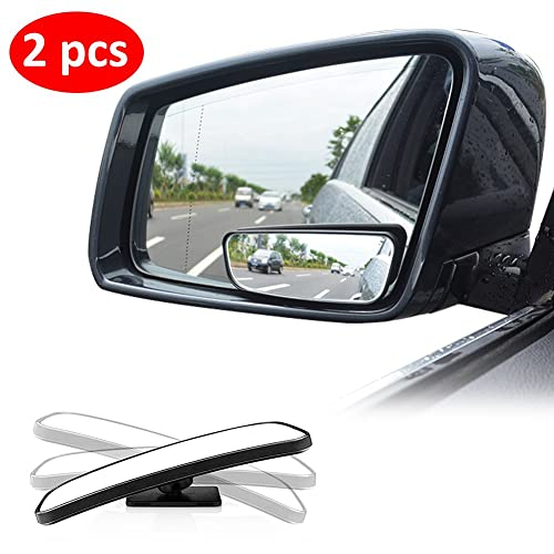 Liberway Car Side Mirror Wide Angle Blind Spot Mirror (2 Piece Set)