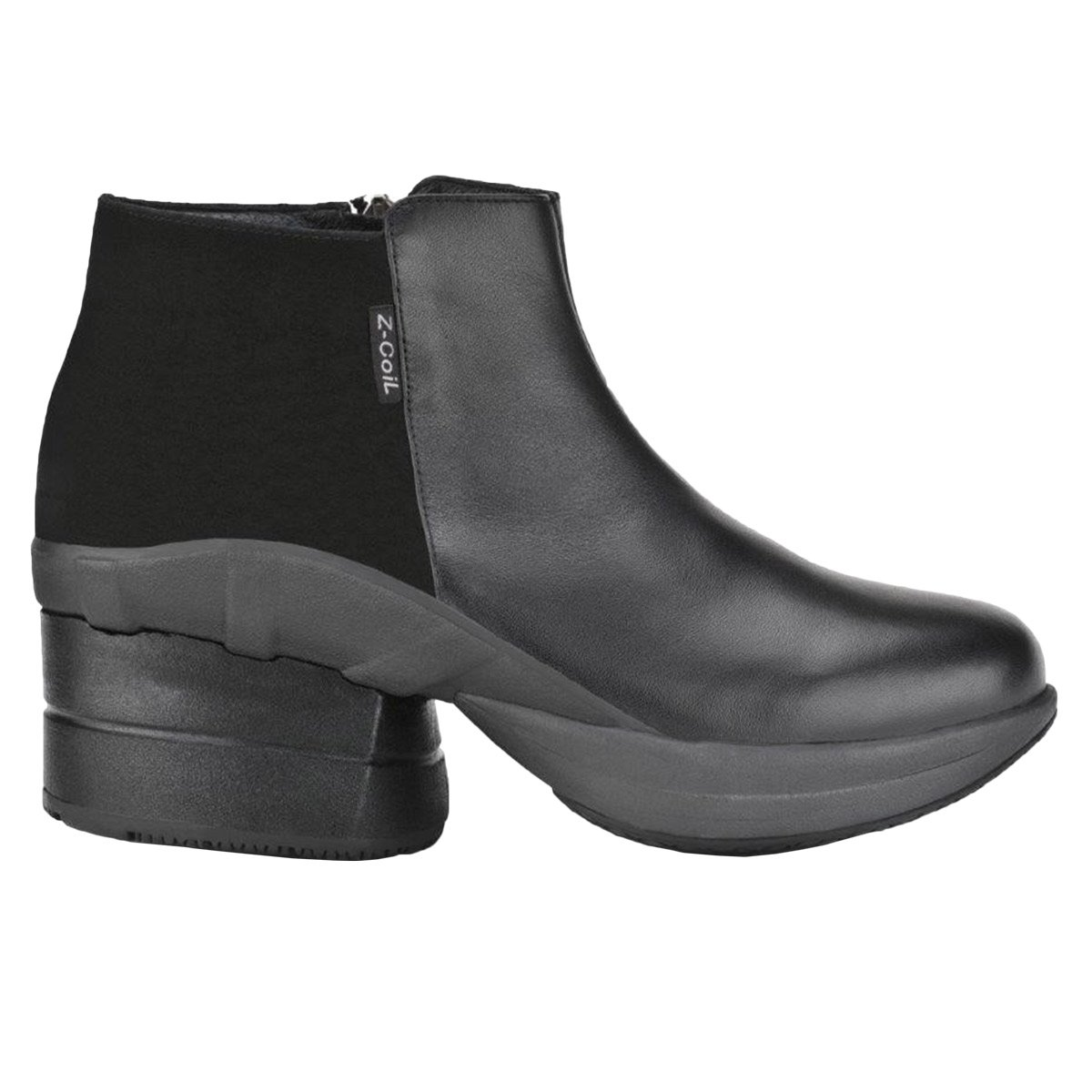 Z-CoiL Pain Relief Footwear Women's Olivia Black Boots 9 E US by Z-CoiL (Image #2)
