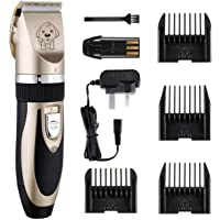 Low Noise Cordless Dog Grooming Kit Electric Clippers Trimming For Pet and Cats