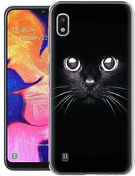ZhuoFan Funda Samsung Galaxy A10, Cárcasa Silicona Transparente ...